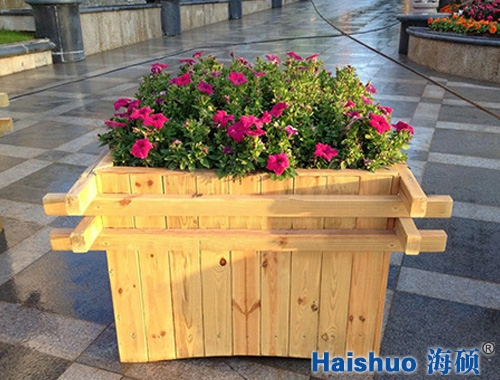 HS-X-05户外景木质观花箱
