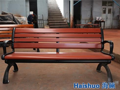 H-S-05塑木公园休闲椅